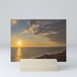 San Clemente Sunset Mini Art Print