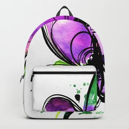 Ecstasy Bloom 10 by Kathy Morton Stanion Backpack
