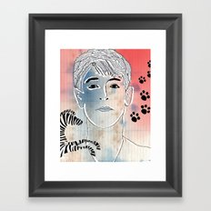 87. Framed Art Print