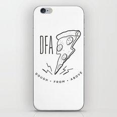 DFA White iPhone & iPod Skin