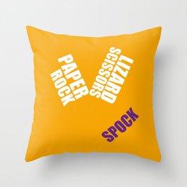 Spock Big Bang Throw Pillow