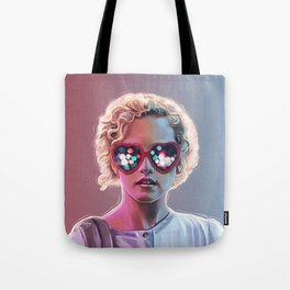 Electrick Girl Tote Bag