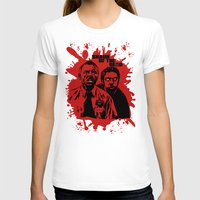 shaun of the dead T-shirts featuring Shaun of the dead blood splatt  by Buby87
