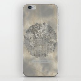 YOU ARE MY WORLD iPhone Skin