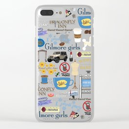 Lorelai Gilmore Clear iPhone Case