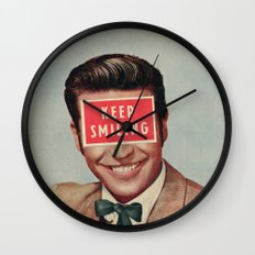 Solid Advice Wall Clock