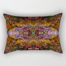DMT Realms Rectangular Pillow