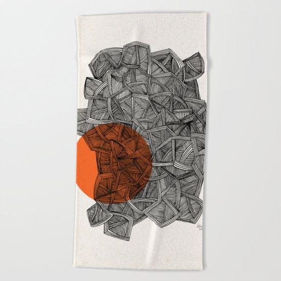 - paradox - Beach Towel