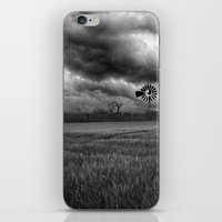 oklahoma iPhone & iPod Skins featuring Oklahoma Sky by Austin's Designs