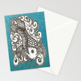Sharpie Fish Stationery Cards