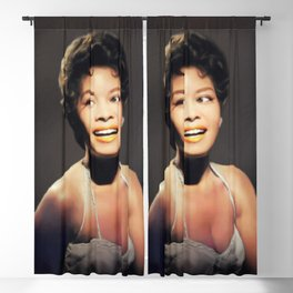 Abby Lincoln, Music Legend Blackout Curtain