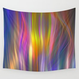 Color streams Wall Tapestry