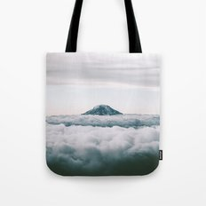 Adams Above Clouds Tote Bag