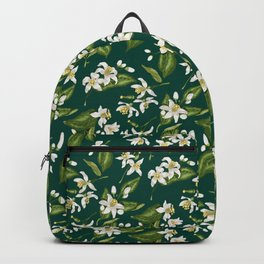 Citrus Blossom Pattern Backpack