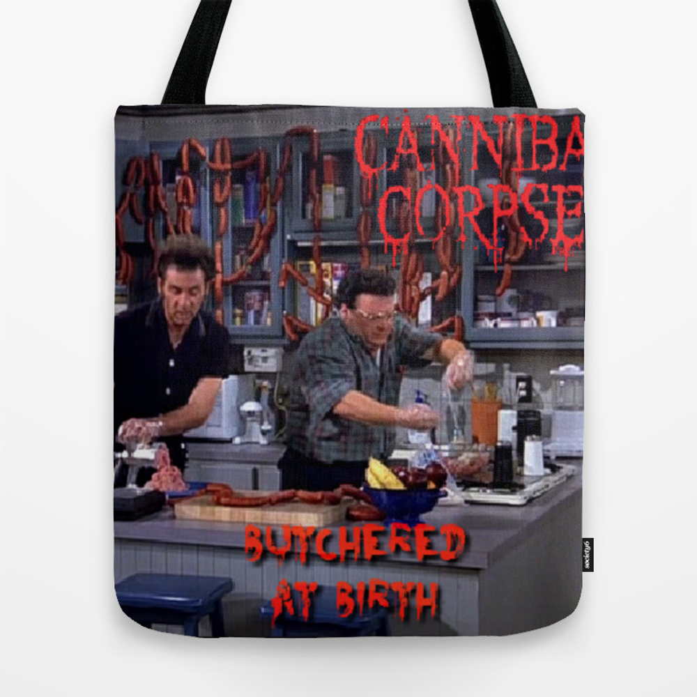 Seinfeld- Death Metal Tote Purse by Lbagels (TBG9725979) photo