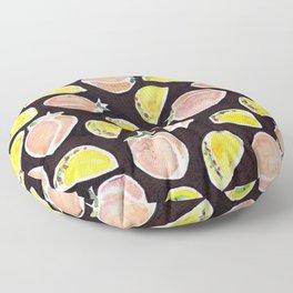 Peach & Taco Floor Pillow