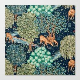 """William Morris """"The Brook"""" Canvas Print"""