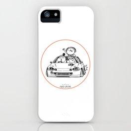 Crazy Car Art 0202 iPhone Case