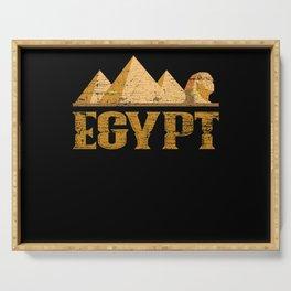 Egypt Pyramids Serving Tray