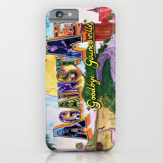 """""""Goodbye Gainesville"""" by Cap Blackard iPhone & iPod Case"""