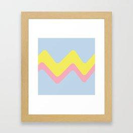 Sweet Layers Framed Art Print
