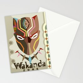 Wakanda Zone Stationery Cards