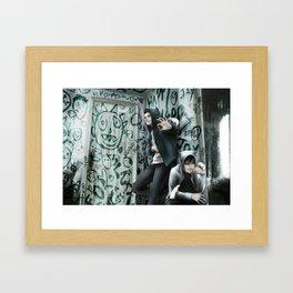 : EVIL BOYS : Framed Art Print