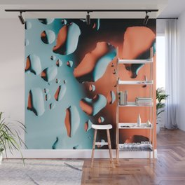 Water drops Wall Mural