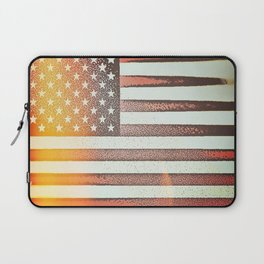Flag U.S. American United States Sun Sunshine Laptop Sleeve