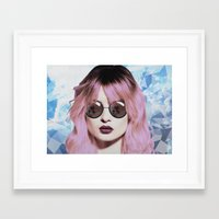 paradise Framed Art Prints featuring Paradise by BTP Designs