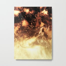 Seath The Scaleless  Metal Print