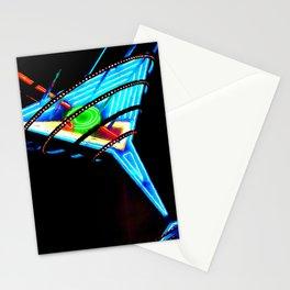 Martini Glass Las Vegas Stationery Cards