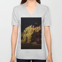 Fruit Bowl Arrangement Unisex V-Neck