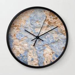 Peeling paint on wall (2) Wall Clock