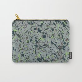 Modern Splatter Paint Art Carry-All Pouch