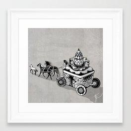 Princess of artichoke Framed Art Print