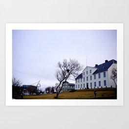 Reykjavic Art Print