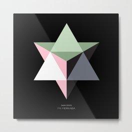 MI MERKABA - Dark State Metal Print