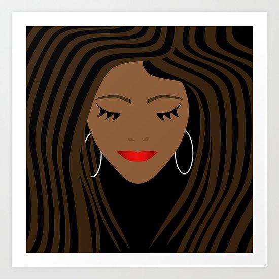Girl 2 Art Print