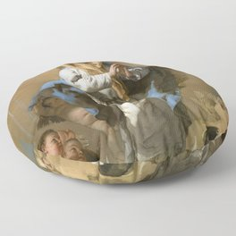 The Immaculate Conception by Giovanni Battista Tiepolo (c 1768) Floor Pillow