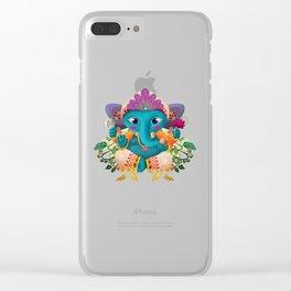 Little Ganesha Clear iPhone Case