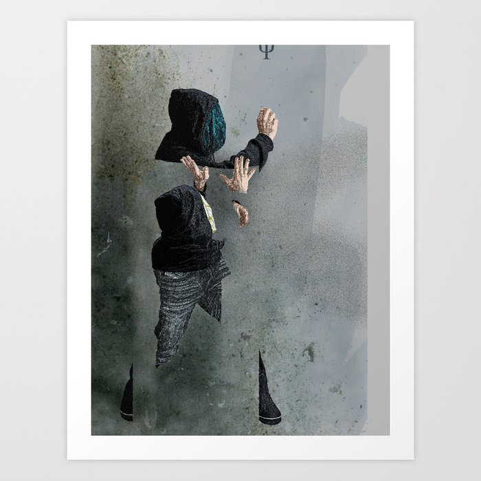 String Theory: Collapsing Wavefunction, Second Tangible Art Print
