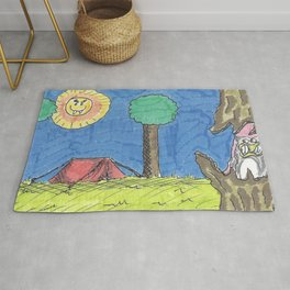 Sinister Camping Rug