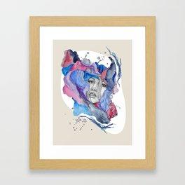 """Lotte"" by carographic Framed Art Print"