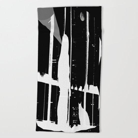 Midnight Call Beach Towel