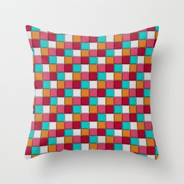 Sweet Sweet Sugary Candy Throw Pillow