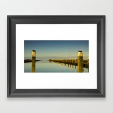 absolute silence Framed Art Print