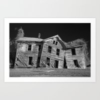 Home Is Where the Haunt Is Art Print
