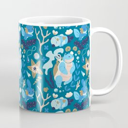 Tropical Water Type Coffee Mug