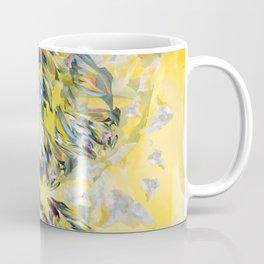 Yellow Flower Storm Coffee Mug